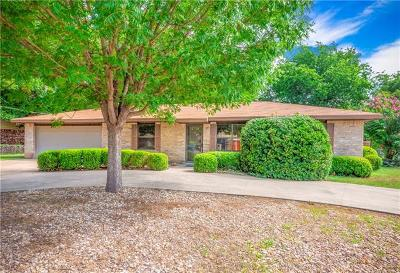 Marble Falls Single Family Home Pending - Taking Backups: 1109 Pecan Dr