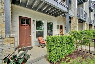Condo/Townhouse For Sale: 2520 Bluebonnet Ln #12