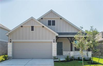 Hutto Single Family Home For Sale: 1006 McCormick Cv