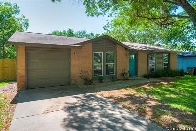 Travis County Single Family Home Pending - Taking Backups: 7203 Sir Gawain Dr