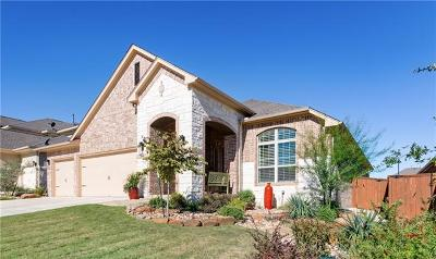 Round Rock Single Family Home For Sale: 2704 Mazaro Way