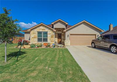 Jarrell Single Family Home For Sale: 329 Western Sky Trl