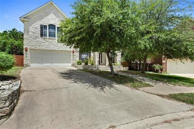 Travis County, Williamson County Single Family Home For Sale: 1109 Hollybrook Cv