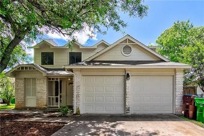 Round Rock TX Single Family Home For Sale: $214,000