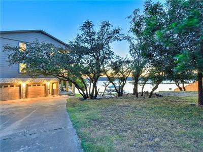 Lago Vista Single Family Home For Sale: 3900 Lake Park Cv