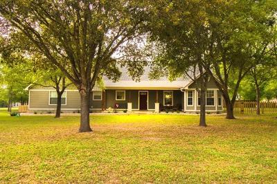 Bastrop Single Family Home Pending - Taking Backups: 121 Spring Br
