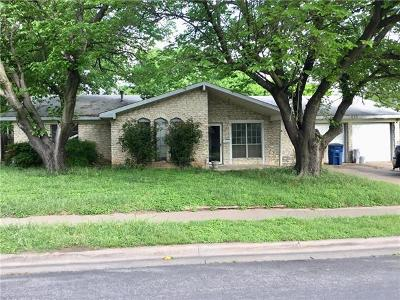 Austin Single Family Home Pending - Taking Backups: 9010 Hunters Trce