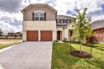Leander Single Family Home For Sale: 1625 Uhland Dr