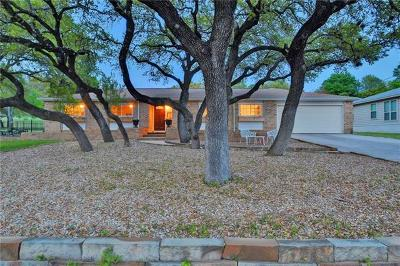 Lago Vista Single Family Home Active Contingent: 4009 Rockwood Dr