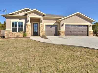 Lago Vista Single Family Home For Sale: 20702 Falcon