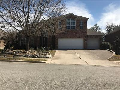 Round Rock Single Family Home For Sale: 3817 Azur Ln