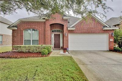 Pflugerville Single Family Home For Sale: 1101 Laurel Oak Trl