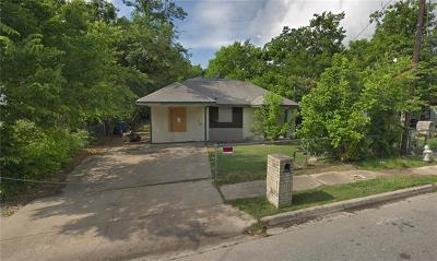 Austin Single Family Home For Sale: 6713 Porter St