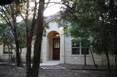 Wimberley Single Family Home Pending - Taking Backups: 110 Golfcrest Dr
