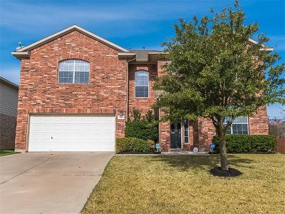Pflugerville Single Family Home For Sale: 4416 Hidden Lake Xing