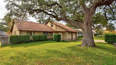 Travis County, Williamson County Single Family Home Pending - Taking Backups: 11701 Blackhawk Dr