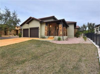 Bee Cave Single Family Home Pending - Taking Backups: 5109 Patagonia Pass