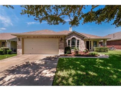 Round Rock Single Family Home For Sale: 3412 Yogi Berra Way