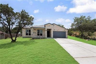 Lago Vista Single Family Home For Sale: 20709 Leaning Oak Dr