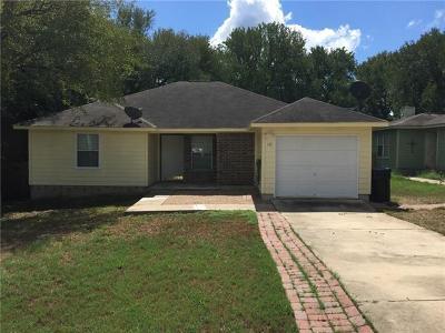 Cedar Creek Single Family Home Pending - Taking Backups: 137 Oak River Dr