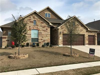 Cedar Park TX Single Family Home Pending - Taking Backups: $439,000