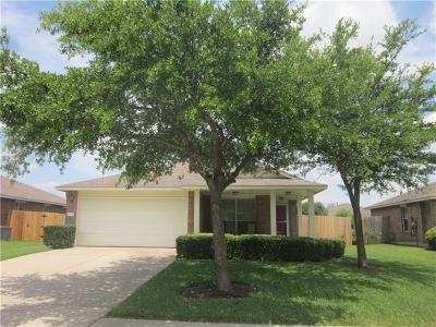 Round Rock Single Family Home For Sale: 2213 Pearson Way