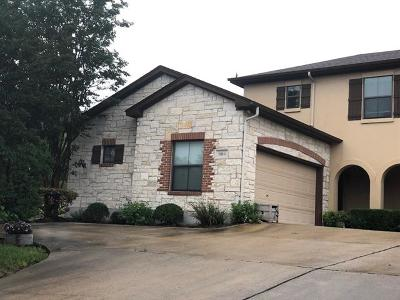 Austin Single Family Home For Sale: 15310 Gebron Dr #A