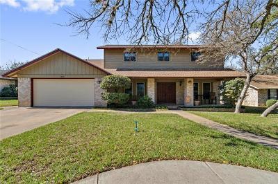 Round Rock Single Family Home Pending - Taking Backups: 1306 Oakridge Dr