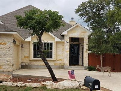 Wimberley Single Family Home For Sale: 44 Creek Side Dr