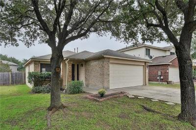 Leander Single Family Home For Sale: 3108 Port Anne Way