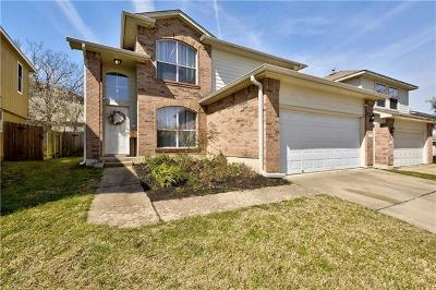 Pflugerville Single Family Home Pending - Taking Backups: 817 Flatters Way
