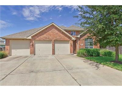 Round Rock Single Family Home For Sale: 4213 Windberry Ct