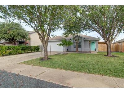 Round Rock Single Family Home For Sale: 3087 Hill St