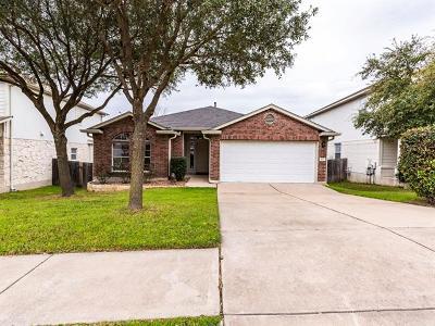 Round Rock Single Family Home For Sale: 629 Fort Thomas Pl