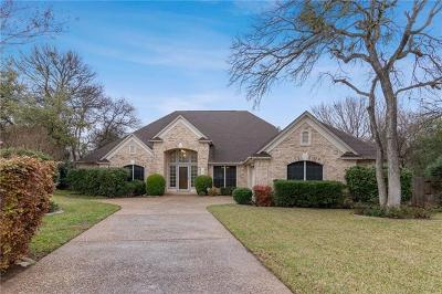 Round Rock Single Family Home Pending - Taking Backups: 907 Rock Spring Cv