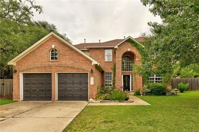 Cedar Park Single Family Home Pending - Taking Backups: 1428 Spiderlily Vw