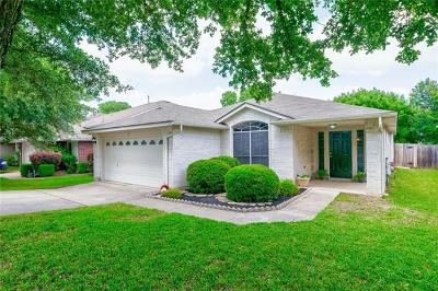 Leander Single Family Home For Sale: 2604 Greenlee Dr