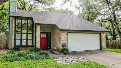Cedar Park Single Family Home Pending - Taking Backups: 1113 Doris Ln