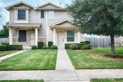 Pflugerville Condo/Townhouse For Sale: 14500 Harris Ridge Blvd #B
