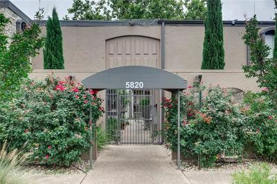 Condo/Townhouse For Sale: 5820 Berkman Dr #120