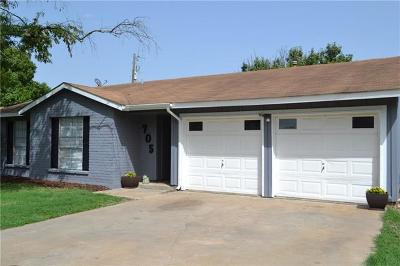 Round Rock TX Single Family Home For Sale: $219,900