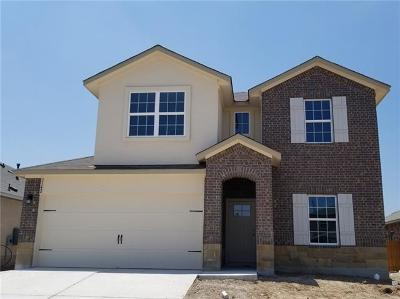Round Rock Single Family Home For Sale: 1506 Autumn Sage Dr