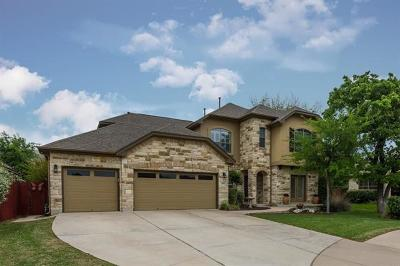 Round Rock Single Family Home Pending - Taking Backups: 4012 Crest Cv