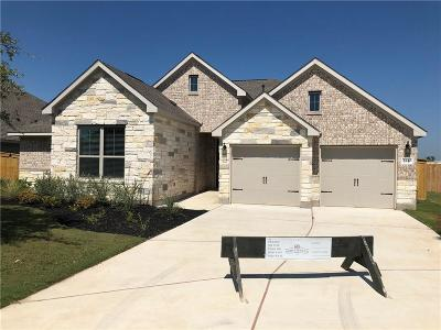 Leander Single Family Home For Sale: 2440 Deering Creek Ct