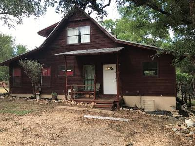San Marcos Single Family Home For Sale: 1001 Alpine Trl