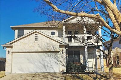 Hays County, Travis County, Williamson County Single Family Home Pending - Taking Backups: 2704 Marcus Abrams Blvd