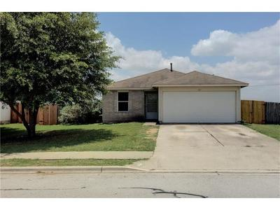 Hutto Single Family Home Pending - Taking Backups: 604 Stewart Dr
