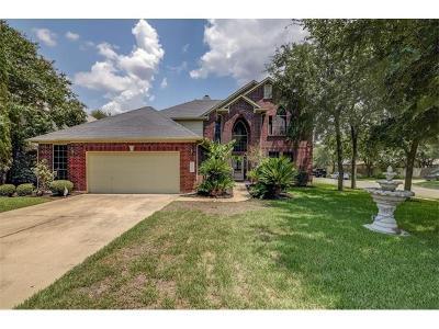 Round Rock Single Family Home For Sale: 2101 Smoke Tree Trl NW