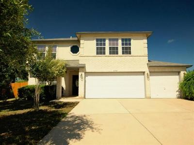 Cedar Park Single Family Home For Sale: 2301 Little Tree Bnd