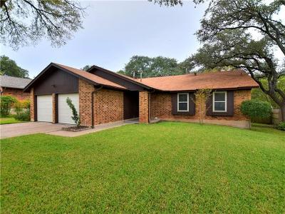Travis County Single Family Home Pending - Taking Backups: 1110 Gemini Dr